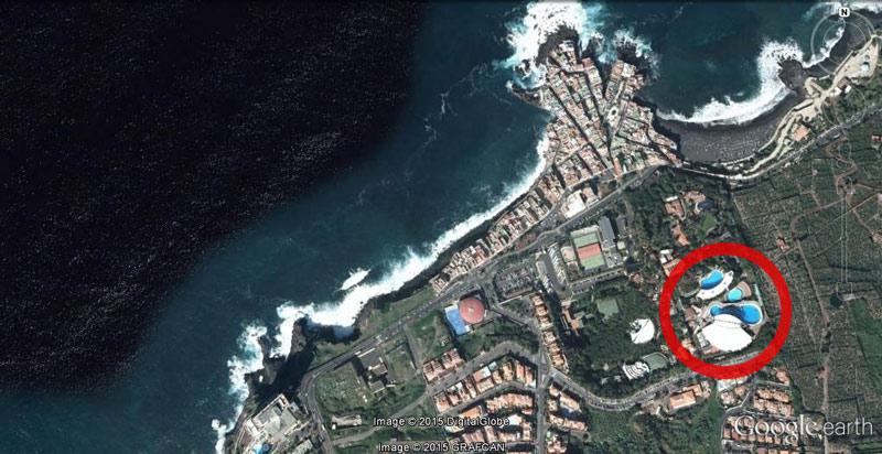 Loro-Parque-google-earth-with-circle